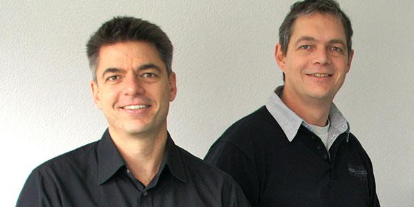 Norbert Mayr und Holger Mayr